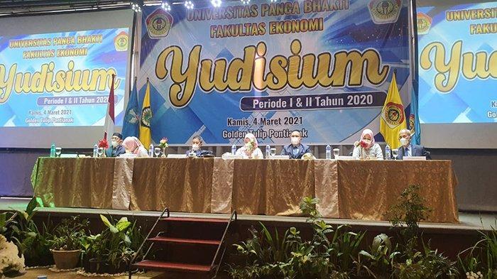 Fakultas Ekonomi UPB Pontianak Gelar Yudisium Periode I dan II tahun 2020