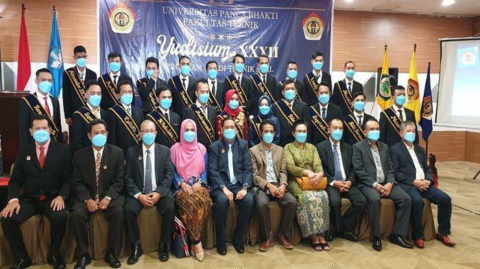 Gelar Yudisium, Fakultas Teknik UPB Wajibkan Swab dan Rapid Tes