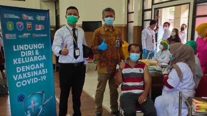 BNI Pontianak Laksanakan Vaksinasi Massal Bagi Masyarakat Hingga Tanggal 24 Juli Mendatang