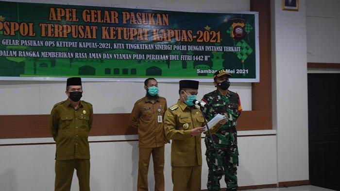 Kapolres Sambas Tekankan Antisipasi Gangguan Terorisme Selama Perayaan Idul Fitri