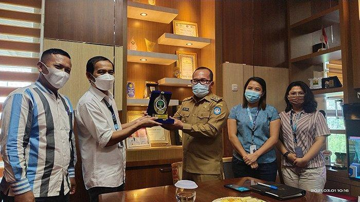 Jalin Silaturahmi Bersama Wabup KKR, Syafrudin Kenalkan Multi Platform Tribun Pontianak