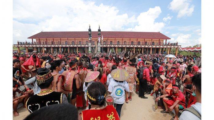 Jadwal Rangkaian Acara Festival Budaya Dayak di Ramin Bantang Bengkayang