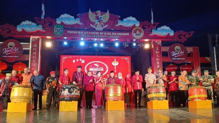 Panitia Sebut Presiden Jokowi Positif akan Buka Festival Cap Go Meh 2020 di Kota Singkawang