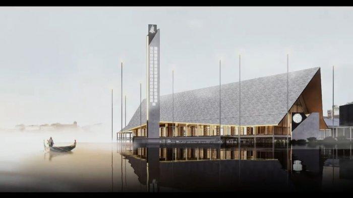 Edi Rusdi Kamtono Ingin Tambah Landmark Berupa Masjid Terapung di Tepian Sungai Kapuas