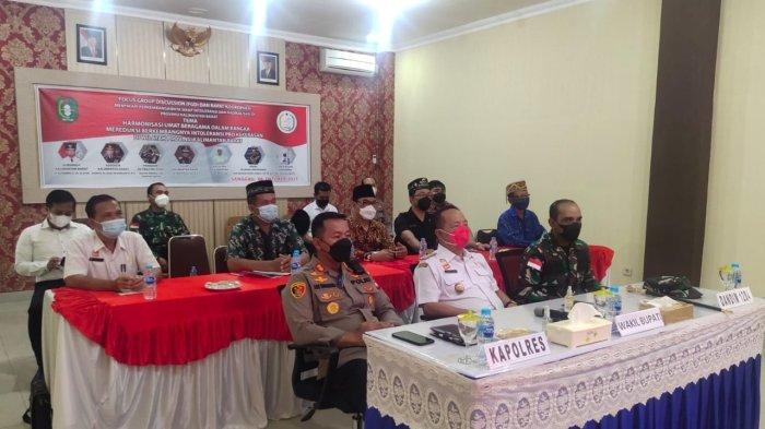Polres Sanggau Gelar FGD, Rapat Koordinasi Intoleransi dan Radikalisasi