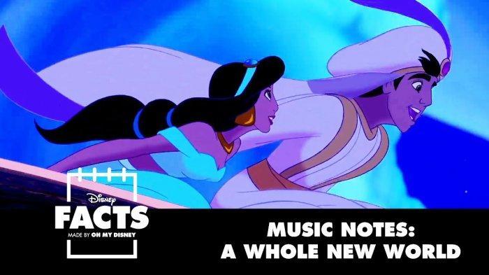 A Whole New World : Fakta Romantis dari Sountrack Film Aladdin