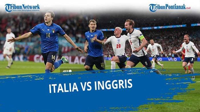 Sejarah Pertemuan Inggris vs Italia Selama 42 Tahun 1976-2018, Italia vs Inggris Live Final EURO