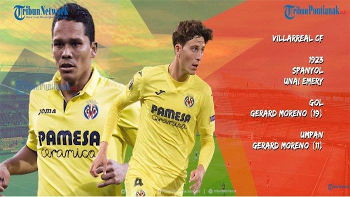 TOP SKOR Liga Eropa Hasil Final Liga Eropa 2021, Gerard Moreno Jadi Top Score Europa League 2021 ?