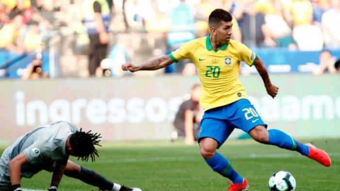 Firmino dan Gabriel Jesus Bawa Tim Samba ke Final Copa America, Ini Cuplikan Gol Brazil Vs Argentina