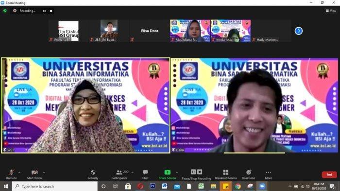 Prodi Sistem Informasi UBSI Pontianak Beberkan Kiat Sukses Jadi UI/UX Designer Pada Mahasiswa
