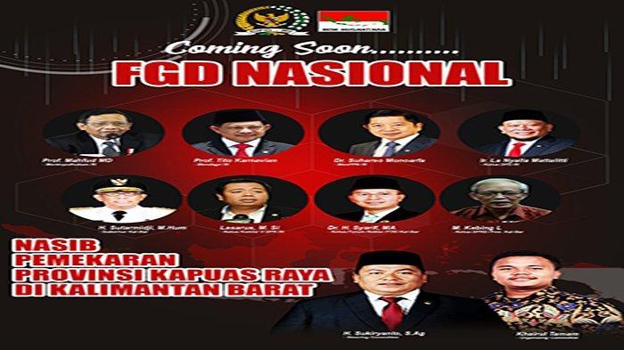 Sukiryanto Hadirkan Sejumlah Menteri dan Pejabat Bahas Nasib Kapuas Raya