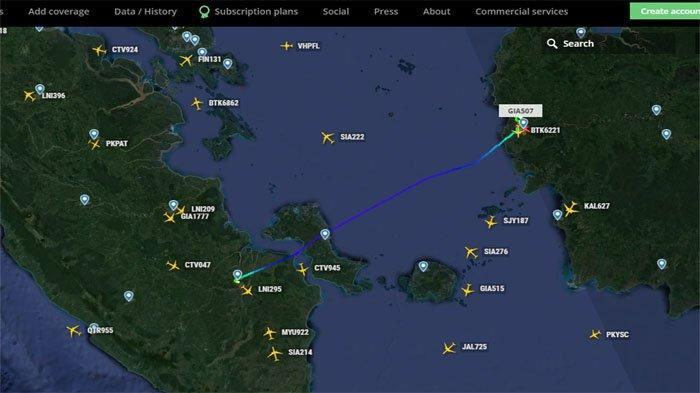 BREAKING NEWS - Cuaca Ekstrem! Lion Air JT684 Garuda GA504 Batal Mendarat di Bandara Supadio PNK