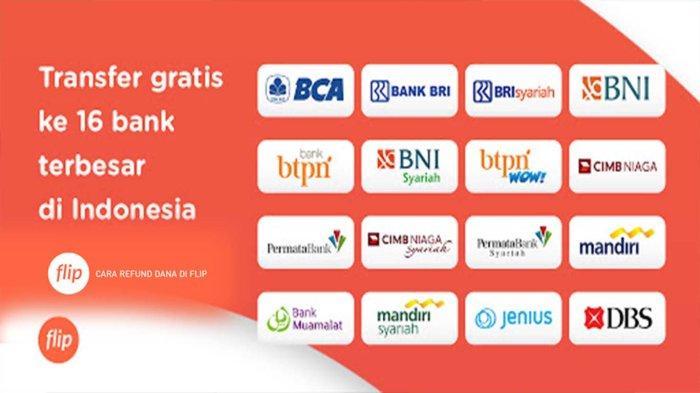 Kirim Uang Beda Bank Gratis Pakai Aplikasi Flip, Cara Hemat Transfer Uang dan Top Up E-Wallet