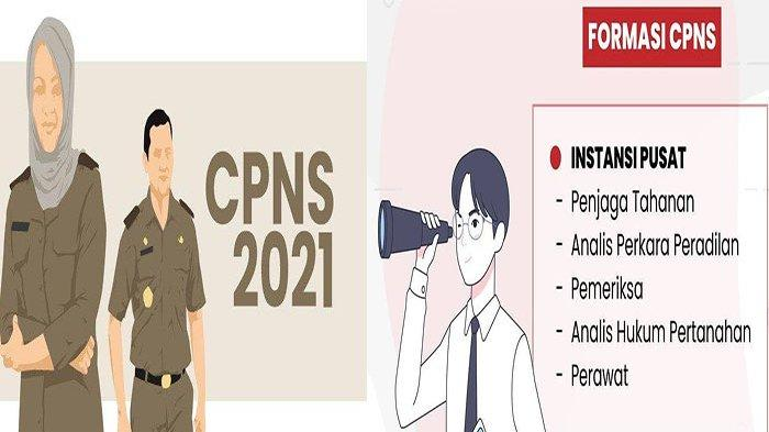 FORMASI CPNS 2021 untuk Lulusan S1 pdf, Link Daftar CPNS 2021 Klik di https //sscn.bkn.go.id