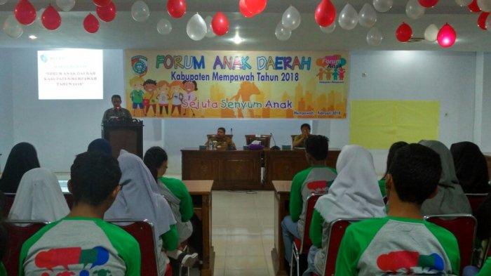 Pemkab Mempawah Gelar Forum Anak Daerah