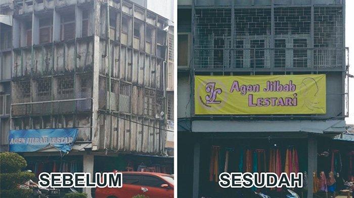 Pemkot Pontianak Imbau Percantik Bangunan Ruko di Jalan Tanjung Pura - foto-bangunan-agen-jilbab-lestari-di-jalan-tanjung-pura-qwxd.jpg