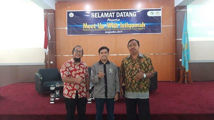 UKM Teknik Untan Realisasikan Meet Up With Istiqomah