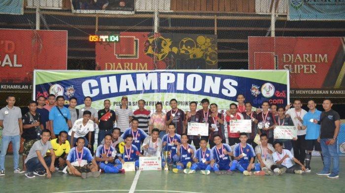 Pemuda Sukses Melaksanakan Turnamen Futsal Sandai Futsal Championship 2019