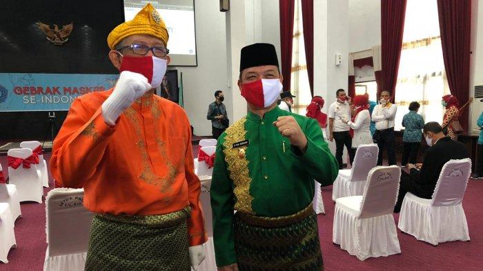 Wagub Kalbar Ria Norsan Maknai Perayaan HUT Ke-75 RI Dengan Penuh Haru Bercampur Sedih
