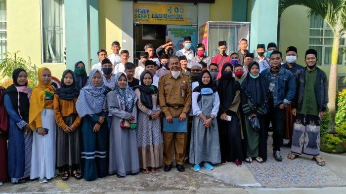 Dinas Kesehatan Kubu Raya Fasilitasi Rapid Test Gratis untuk Para Santri Kembali ke Ponpes di Jawa