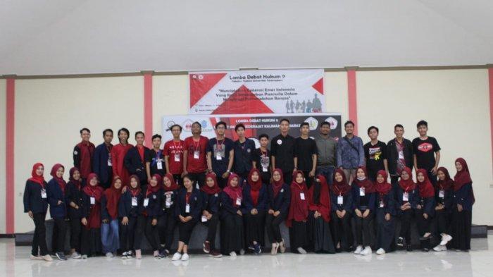 Lomba Debat Hukum yang ke 9 Fakultas Hukum Universitas Tanjungpura Sukses Diselenggarakan