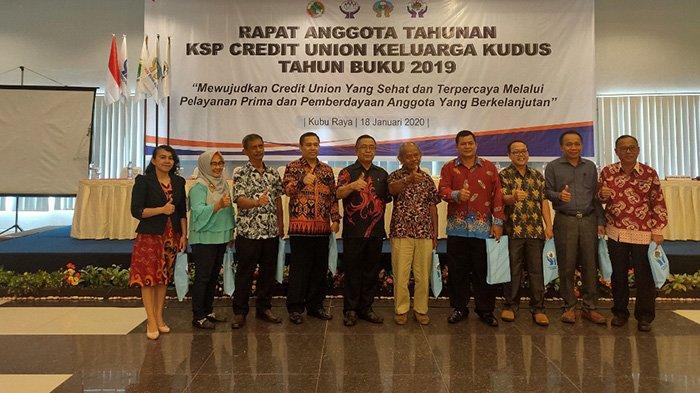 Puskospin Bumi Borneo Harap CU Keluarga Kudus Terus Lakukan Perbaikan