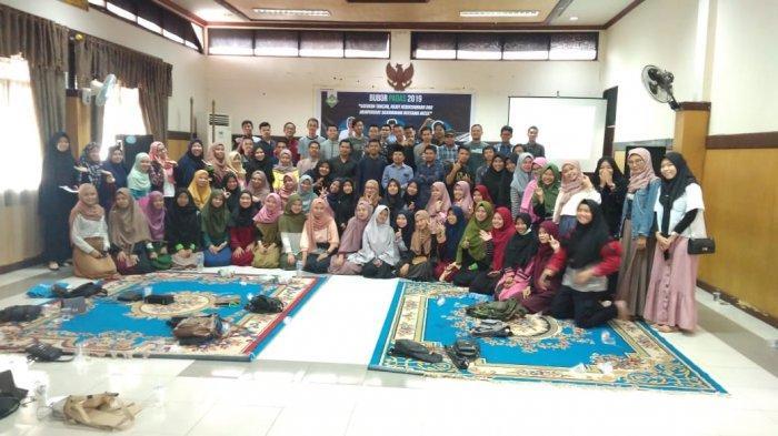Ikatan Mahasiswa Kecamatan Teluk Keramat Gelar Kegiatan Bubor Paddas