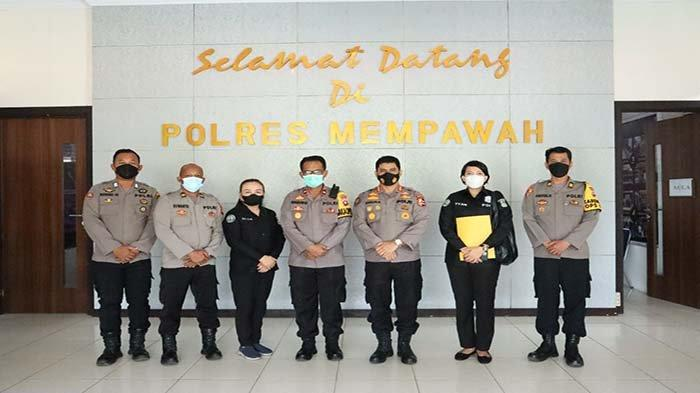 Tim Supervisi Divhumas Mabes Polri Lakukan Supervisi Kehumasan di Polres Mempawah