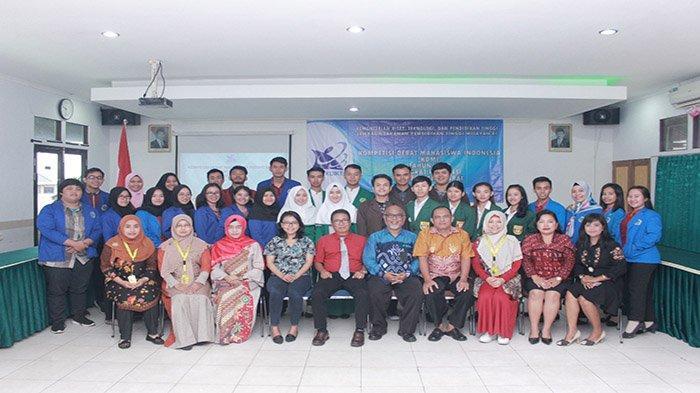 Juara Kompetisi Debat Mahasiswa Indonesia 2019 Tingkat Provinsi Bakal Wakili Kalbar di LLDIKTI