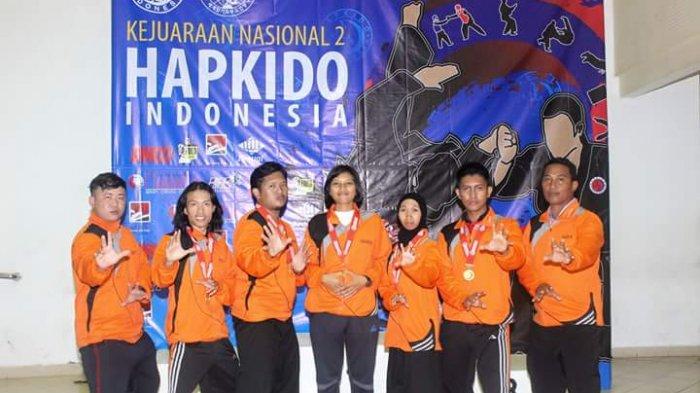 Kontingen Hapkido Kalbar Sabet 4 Medali Emas di Kejurnas di Yogyakarta