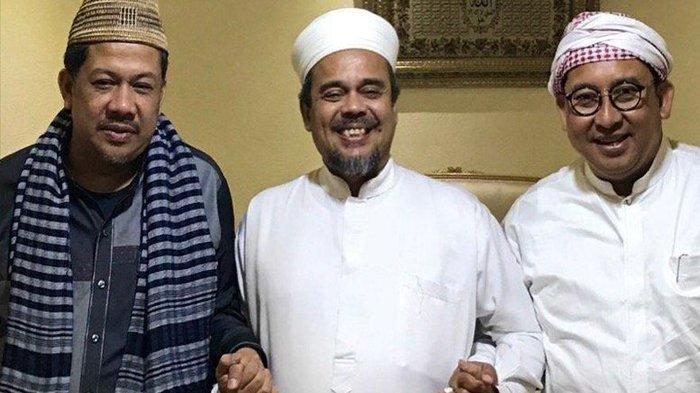 2 Pimpinan DPR RI Temui Habib Rizieq di Mekkah, Apa Ini Terkait Pilpres?