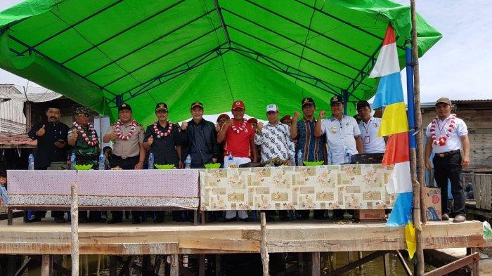 Meriahnya Pelaksanaan Ragam Lomba, Camat Teluk Keramat Harap Bisa Tingkatkan Perekonomian Masyarakat