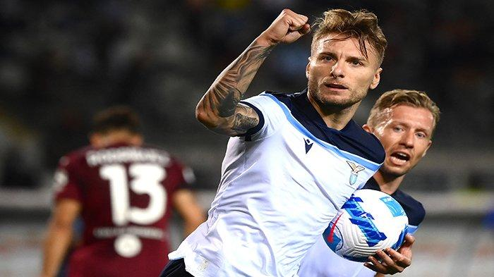 Jadwal Liga Italia Lazio vs Inter, Adu Tajam Sang Top Skor Ciro Immobile dan Lautaro Martinez