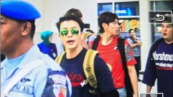 FOTO Lokasi Syuting Super Junior dan TVXQ di Yogyakarta, Diserbu Ratusan Fans K-Pop hingga PKL