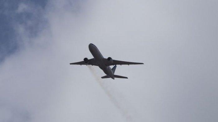 DRAMATIS! Mesin Pesawat Boeing 777 Terbakar di Udara, Berhasil Mendarat dan Semua Penumpang Selamat