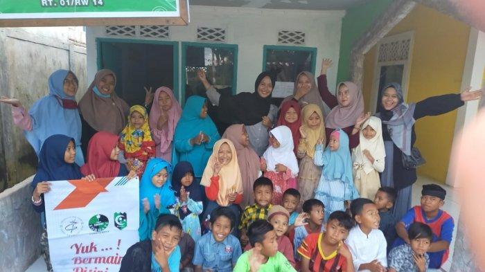 Kohati Cabang Pontianak Laksanakan Agenda Rutin Sekolah Binaan di Rusunawa