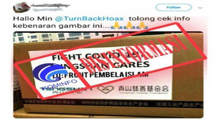 """CEK FAKTA - """" To: Front Pembela Islam"""