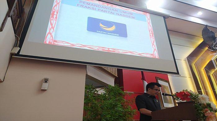 Fraksi NasDem DPRD Kalbar Soroti Serapan Anggaran OPD Dibawah 10 Persen