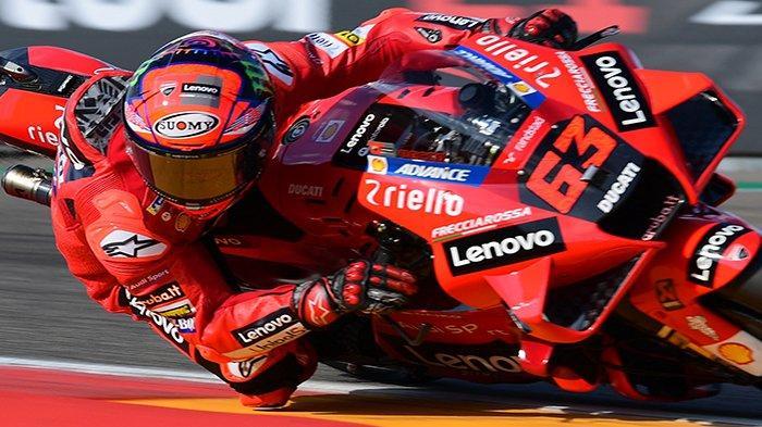 Live Race MotoGP Hari Ini Siaran Langsung Trans7, Velentino Rossi Dukung Francesco Bagnaia Juara