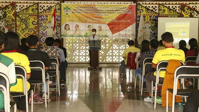 Bupati dan Wabup Hadiri Mapenta dan Muskomcab Organisasi Pemuda Katolik Kapuas Hulu