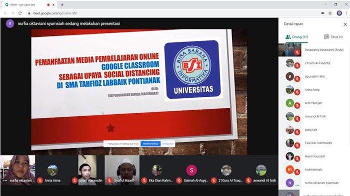 Dosen UBSI Lakukan Pengabdian Masyarakat di SMA Tahfidz Labbaik Pontianak