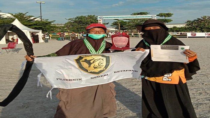 MEMBANGGAKAN Mahasiswa Politap Juara Horse Back Archery Competition Tingkat Nasional