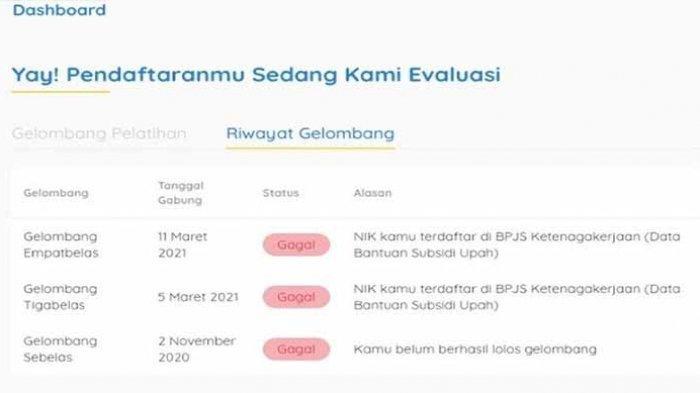 Kemensos.go.id Buat Pengaduan Gagal Prakerja NIK Terdaftar di Kementrian Sosial info@kemensos.go.id