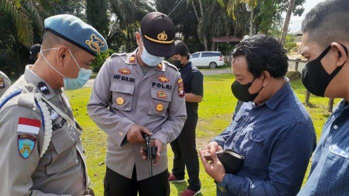 Kanit Propam Polsek Ledo Polres Bengkayang Lansanakan Gaktiblin Personel
