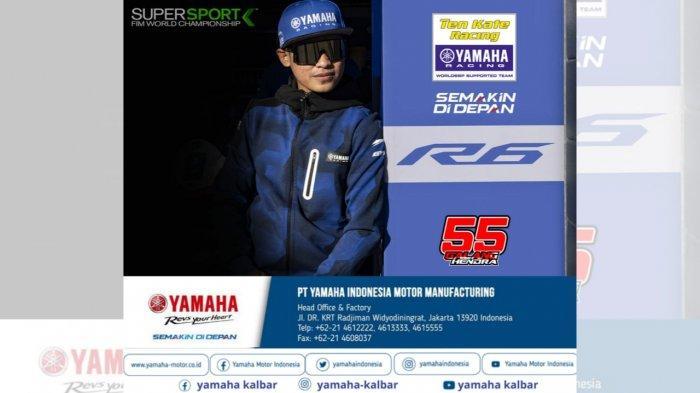 #55 Galang Hendra Target 10 Besar di World Supersport Championship 2021