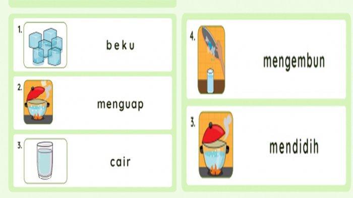 Gambar literasi 3 Kelas 2 SD.
