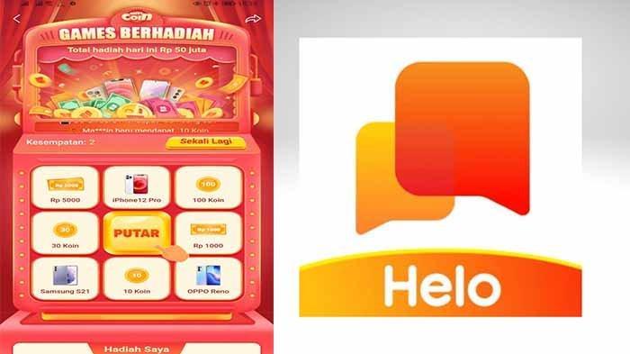 Aplikasi Penghasil Uang Helo Penghasil Saldo Dana Tiap Hari & Ikuti Event Game Berhadiah Cek Caranya