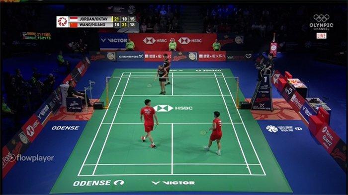 HASIL Final Ganda Campuran Denmark Open 2019   Rubber Set, Praveen/Melati Kalahkan Unggulan 2 Dunia