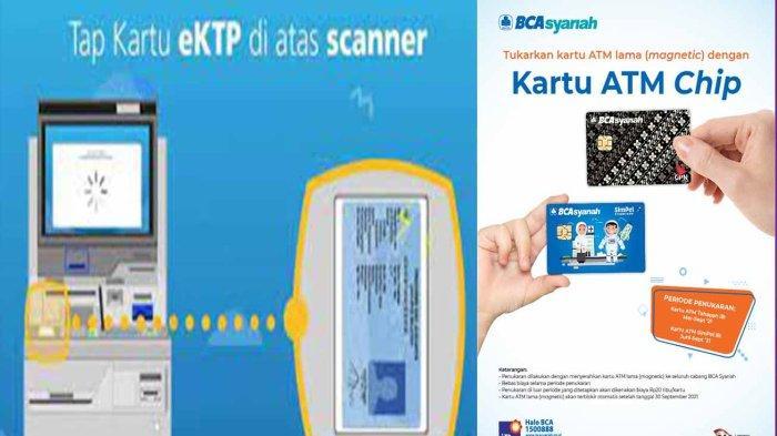 Ganti Kartu ATM BCA Pakai KTP Elektronik Mulai Diterapkan