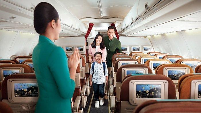 Garuda Indonesia Group Mulai Berlakukan Kebijakan Pemerintah Terkait Insentif Tiket Pesawat